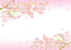 桜のイラスト!無料で揃えられる枠は?