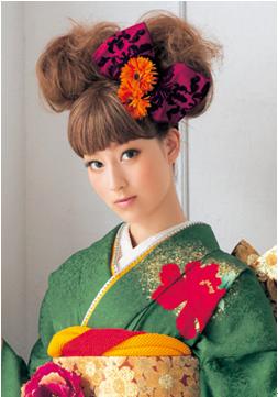 卒業式袴に合う髪型8