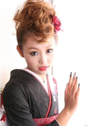 卒業式袴に合う髪型6