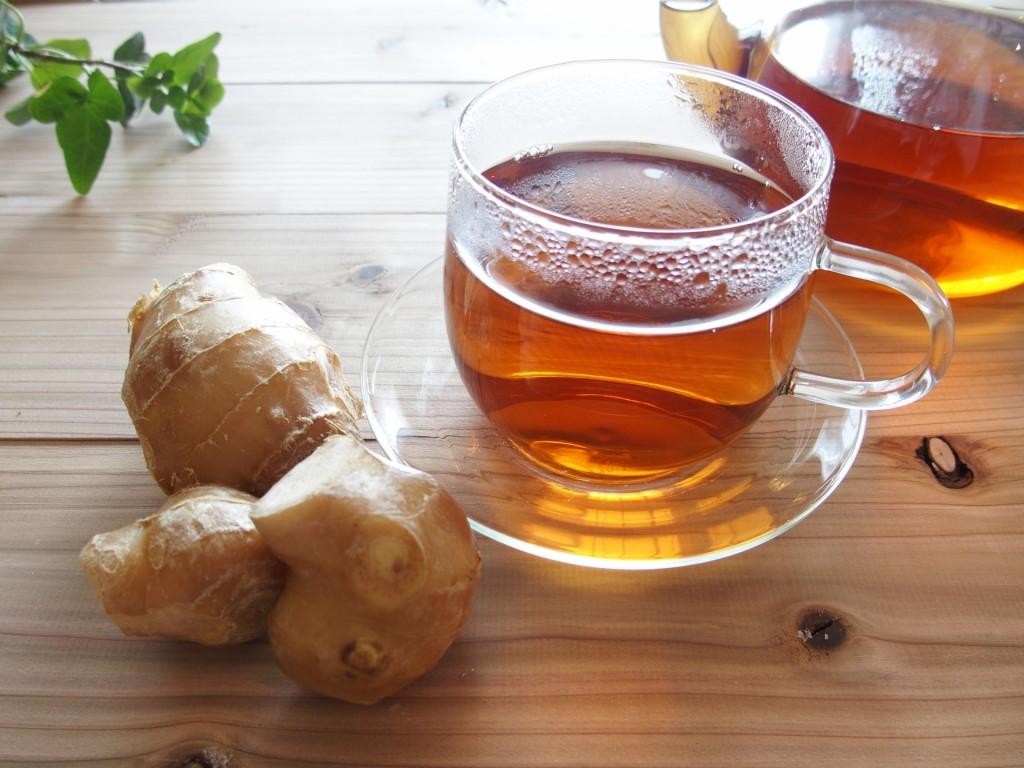 冷え性 生姜紅茶