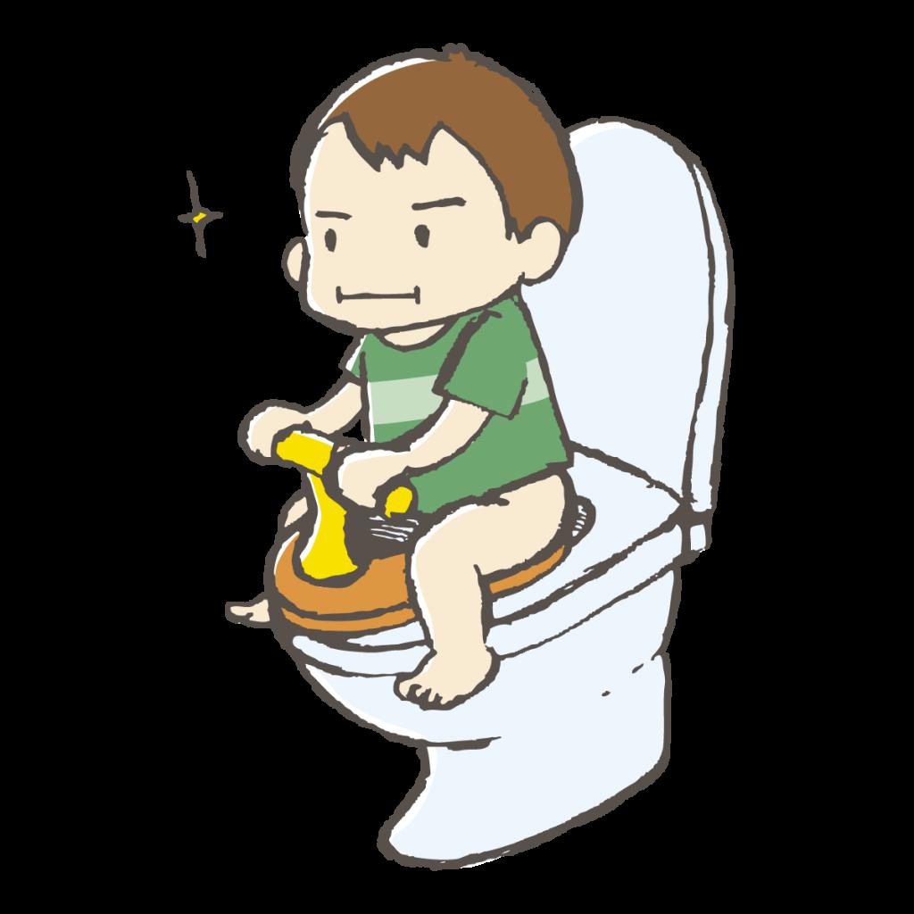 トイレトレーニング嫌がる